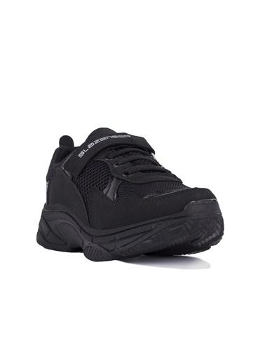 Slazenger Ally Erkek Çocuk Sneaker Ayakkabı Siyah